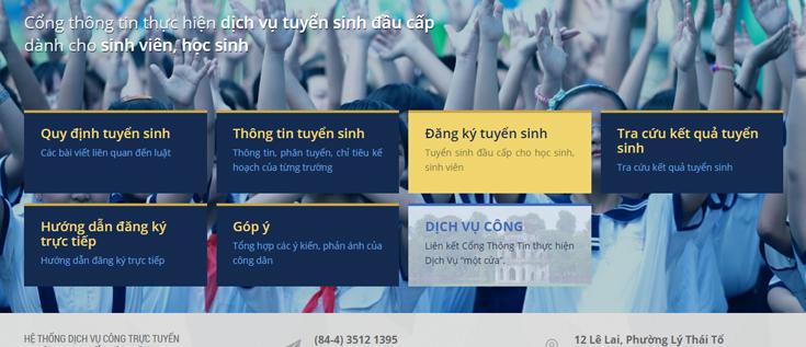 Tsdaucap.hanoi.gov.vn – Hướng dẫn đăng ký và tra cứu thông tin tuyển sinh chi tiết