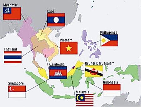 Đông Nam Á có bao nhiêu nước? – Danh sách các quốc gia Đông Nam Á theo lãnh thổ quốc gia
