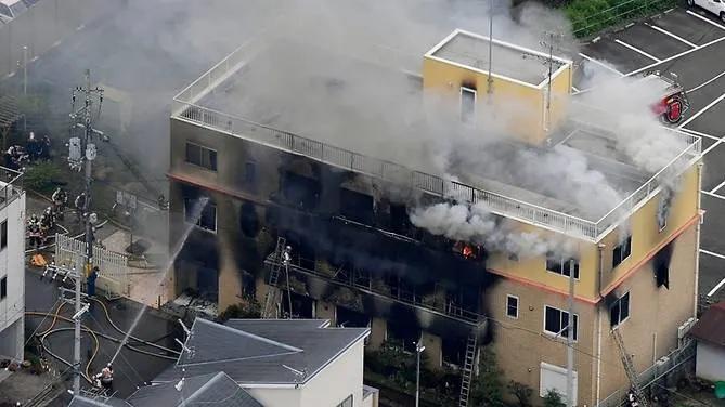 Thảm khốc hiện trường vụ cháy xưởng phim khiến ít nhất 23 người thiệt mạng ở Nhật Bản