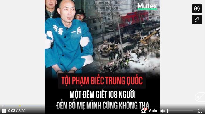 Tội phạm điếc đầu tiên của Trung Quốc: Một đêm giết 108 người, ngay cả bố mẹ ruột cũng không tha