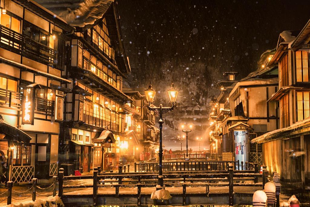 Chiêm ngưỡng cổ trấn đẹp lung linh như bước ra từ phim hoạt hình của Nhật Bản