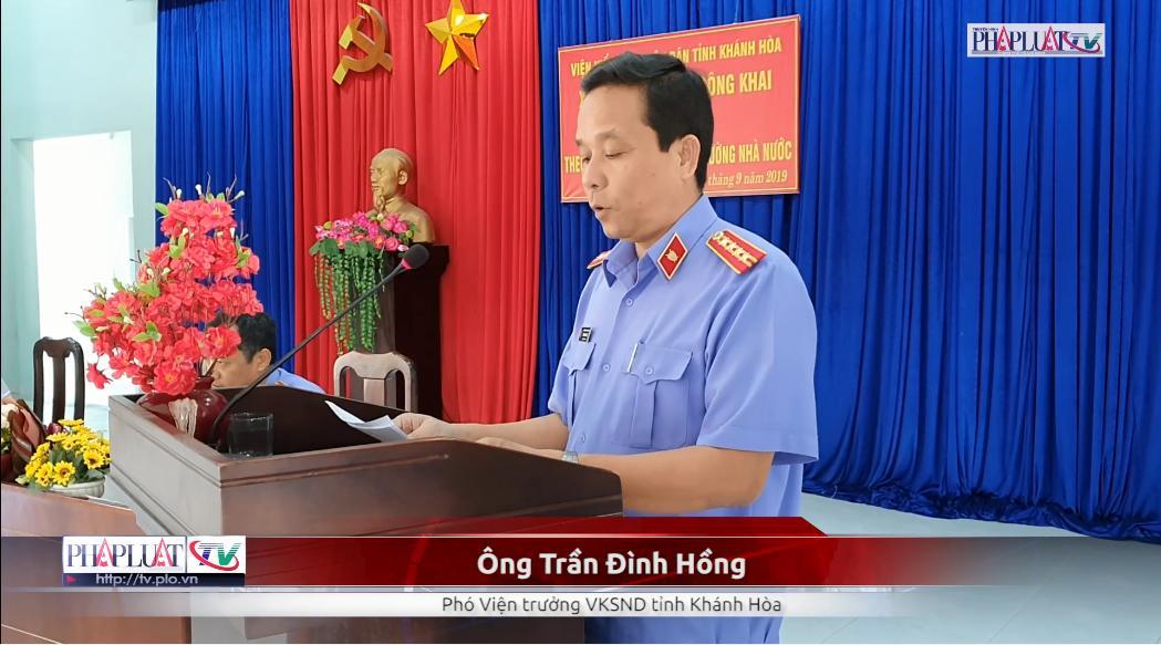 Video: VKSND tỉnh Khánh Hòa xin lỗi công khai người bị oan 38 năm mang tội giết người
