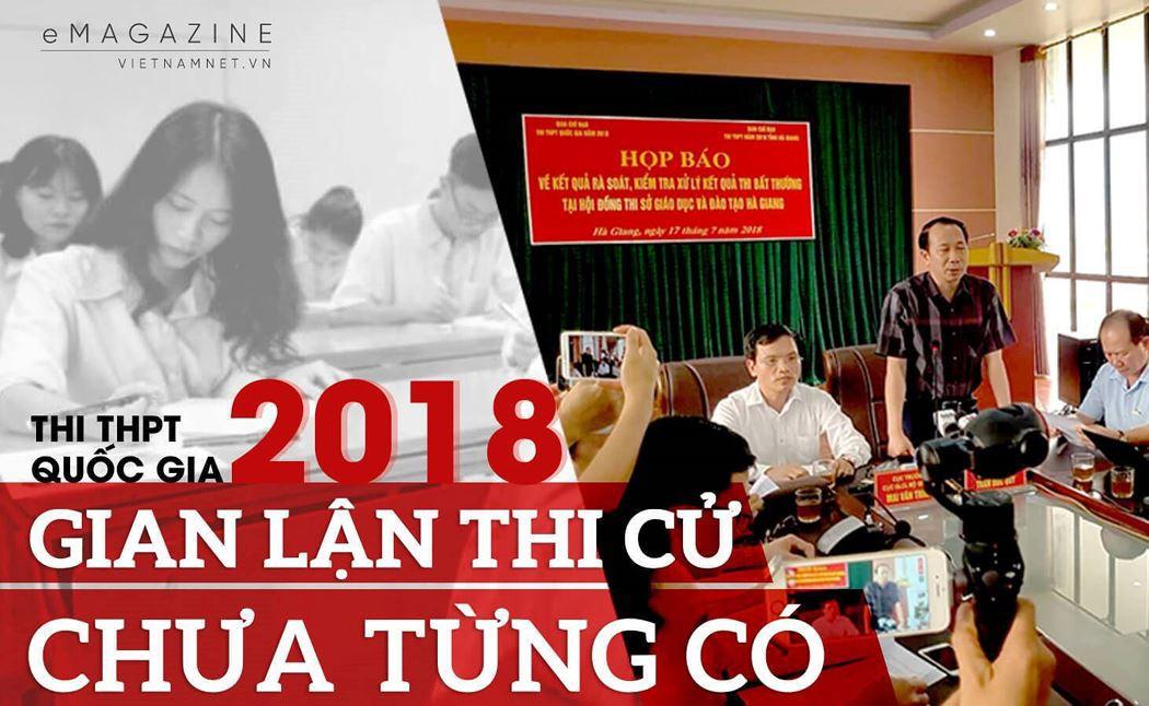 HOT: Đã có danh sách full những người có con em được nâng điểm thi ở Hà Giang