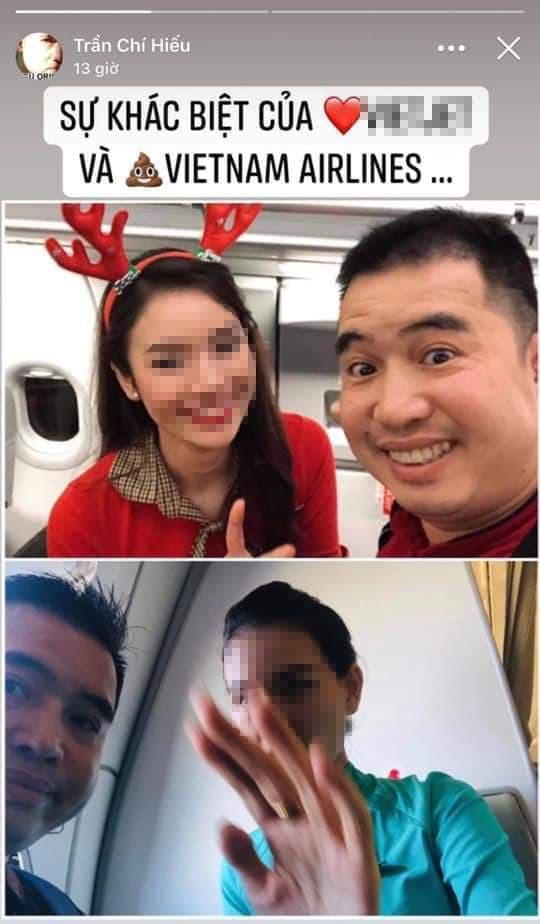 Hiếu orion bị chỉ trích vì đăng ảnh xúc phạm tiếp viên hàng không