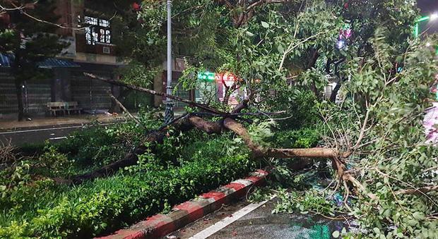 Trước khi bão số 6 đổ bộ: 2 người tử vong, 200.000 hộ dân mất điện