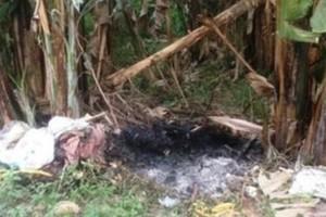 Kinh hoàng chồng giết vợ rồi châm lửa đốt xác phi tang ngay tại nhà