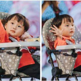 """Bé Sa và """"ngàn lẻ một"""" biểu cảm siêu cute cưng không chịu nổi trong buổi đầu gặp fan tại Việt Nam"""