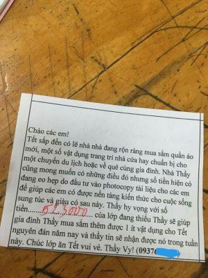 """Thầy giáo """"viêm màng túi"""" viết tâm thư đòi nợ học trò khiến dân mạng vừa thương vừa buồn cười"""