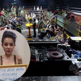 """Hot girl Ngân 98 bị quan trên """"bế"""" lên phường vì dương tính với ma túy trong bar ở Tây Ninh"""