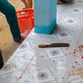 Cô giáo dùng dao chém đồng nghiệp ngay trong trường, nhiều học sinh sợ hãi