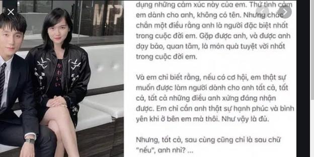 """Nghi vấn Hải Tú gửi mail tỏ tình cho Sơn Tùng: """"Em xin lỗi vì đã tỏ tình khi anh đang yêu người khác"""""""