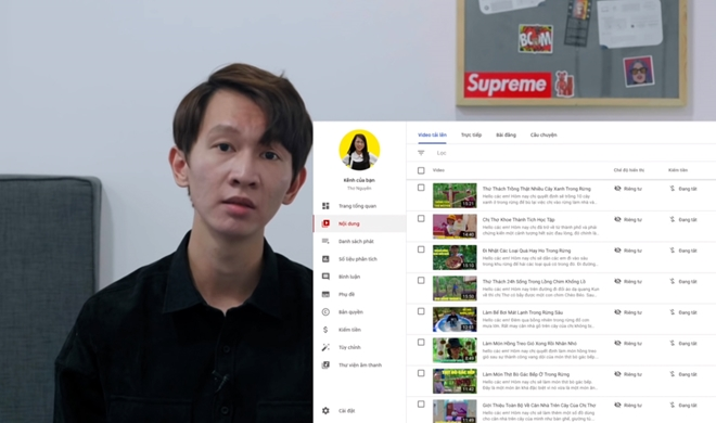Thơ Nguyễn xin lỗi, tắt kiếm tiền, ẩn video video trên kênh YouTube gần 9 triệu subscribe