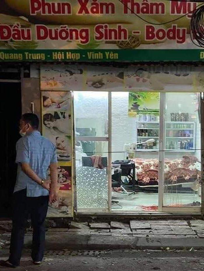 Vĩnh Phúc: Nghi án chồng đâm chết vợ cũ ngày 20/10 ở tiệm spa
