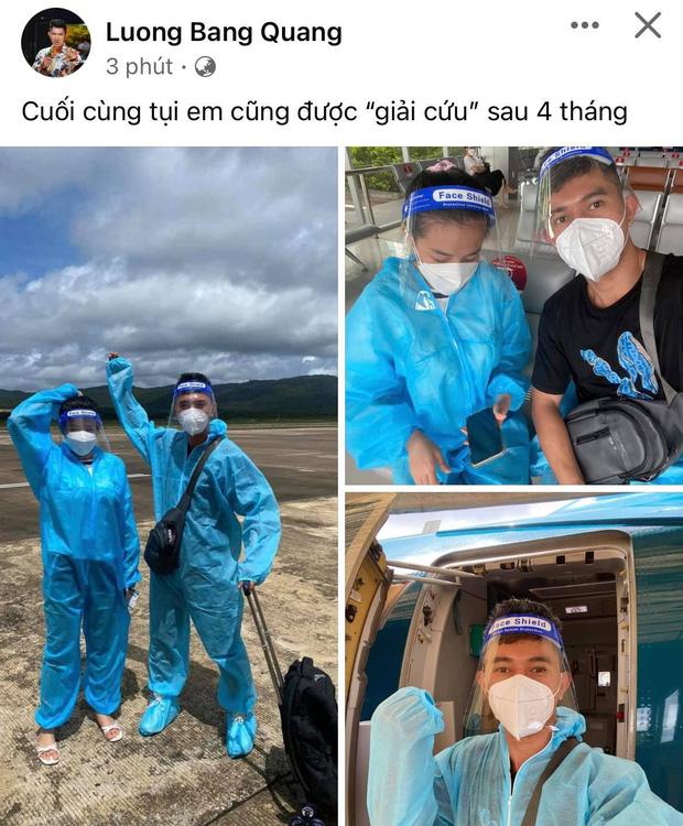 Lương Bằng Quang được về nhà sau 4 tháng mắc kẹt trên đảo, cọ toilet kiếm sống