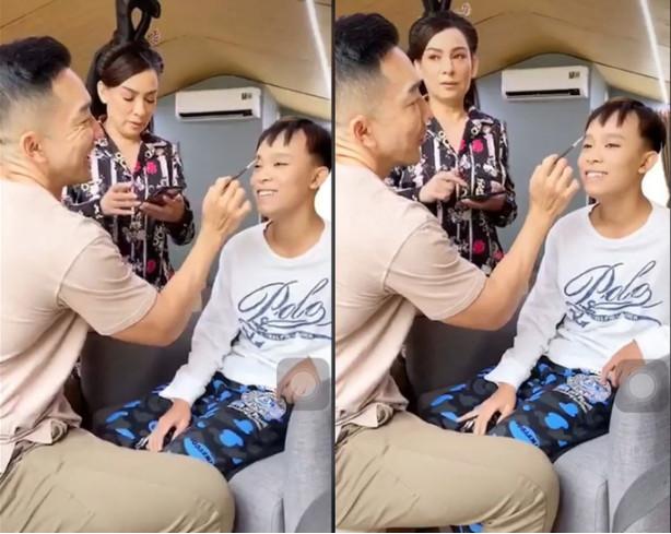 Clip cố ca sĩ Phi Nhung hỏi Hồ Văn Cường tiền góp từ thiện gây xôn xao